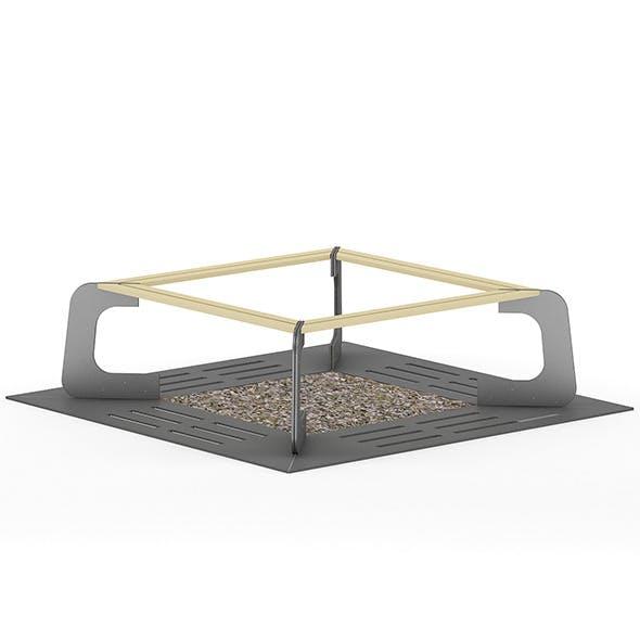Tree Barrier 2 - 3DOcean Item for Sale