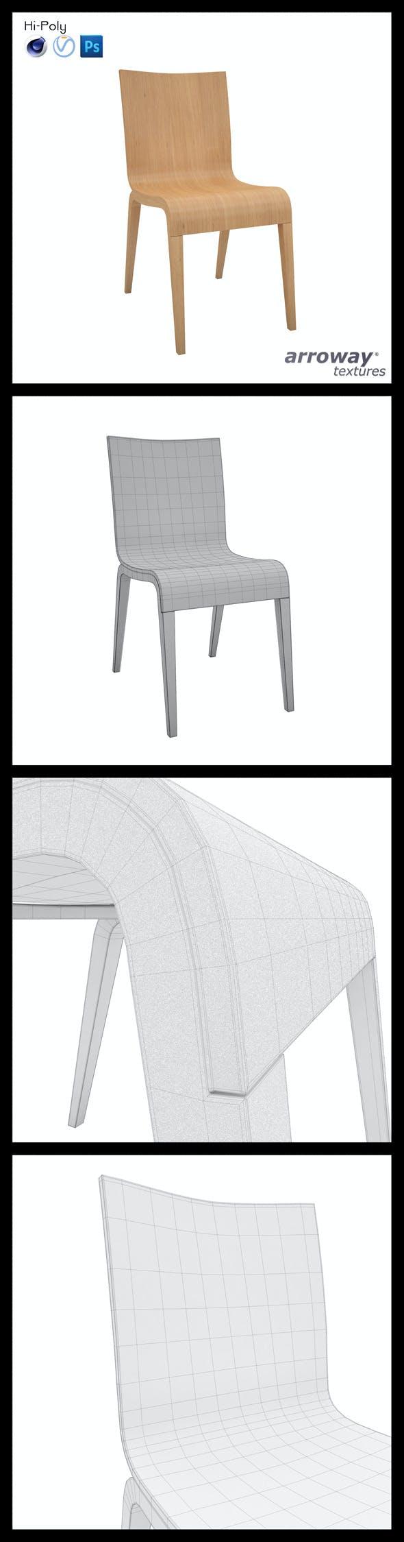 Ton Simple Hi-Poly - 3DOcean Item for Sale