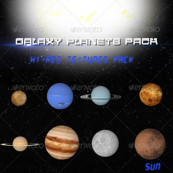 Galaxy Planet Pack