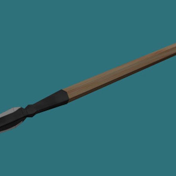 Low Poly Spear