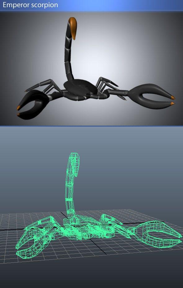Emperor Scorpion - 3DOcean Item for Sale