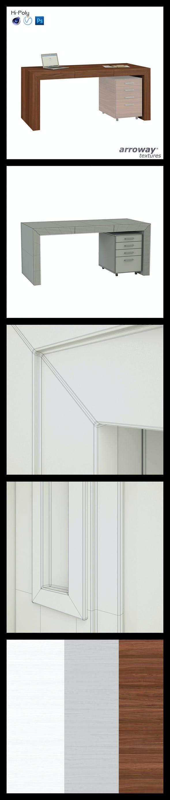 Triant Brown 501 Hi-Poly - 3DOcean Item for Sale
