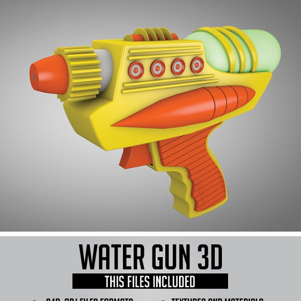 Water Gun 3D