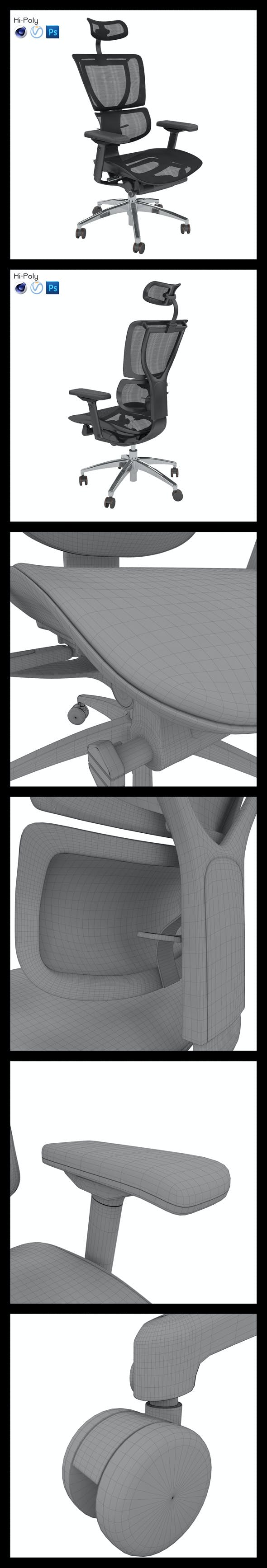 AlbaCR JOO Hi-Poly - 3DOcean Item for Sale