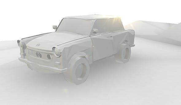 Paper Trabant  - 3DOcean Item for Sale