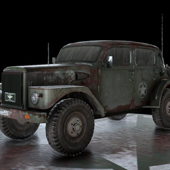 WW2 Military Vehicle Volvo