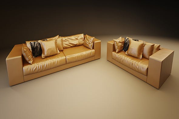 Luxury Sofa - 3DOcean Item for Sale
