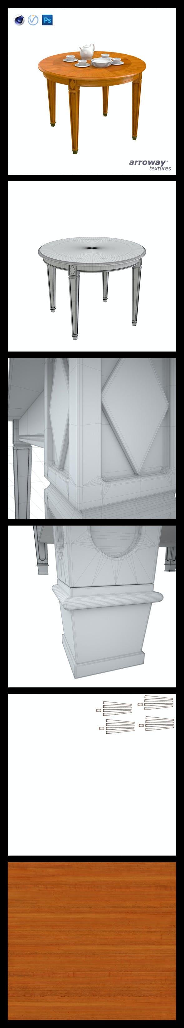 Triant Harmony 532 Hi-Poly - 3DOcean Item for Sale