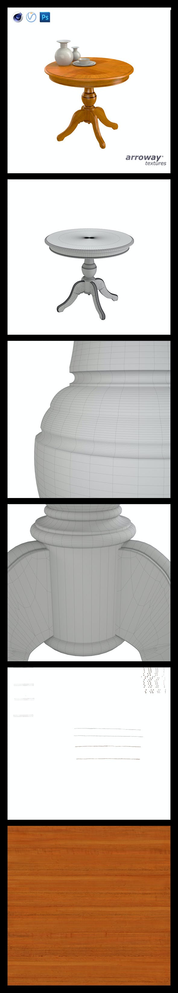 Triant Harmony 536 Hi-Poly - 3DOcean Item for Sale