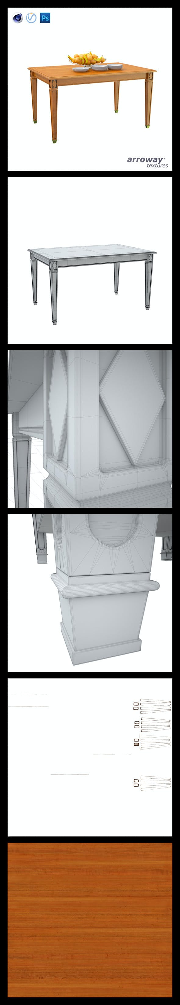 Triant Harmony 602 Hi-Poly - 3DOcean Item for Sale