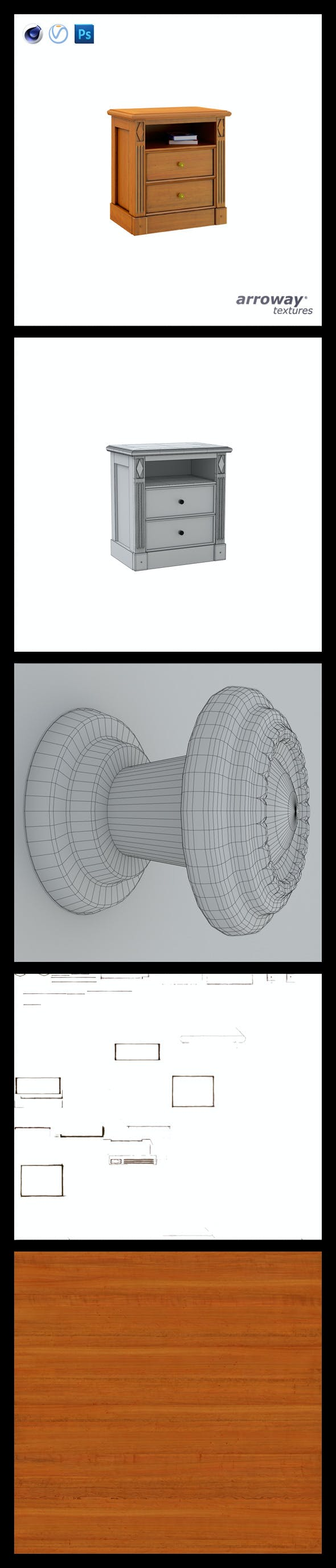 Triant Harmony 759 Hi-Poly - 3DOcean Item for Sale