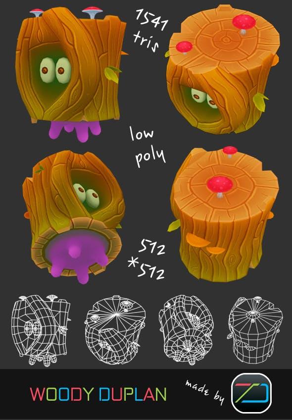 Woody Duplan  - 3DOcean Item for Sale