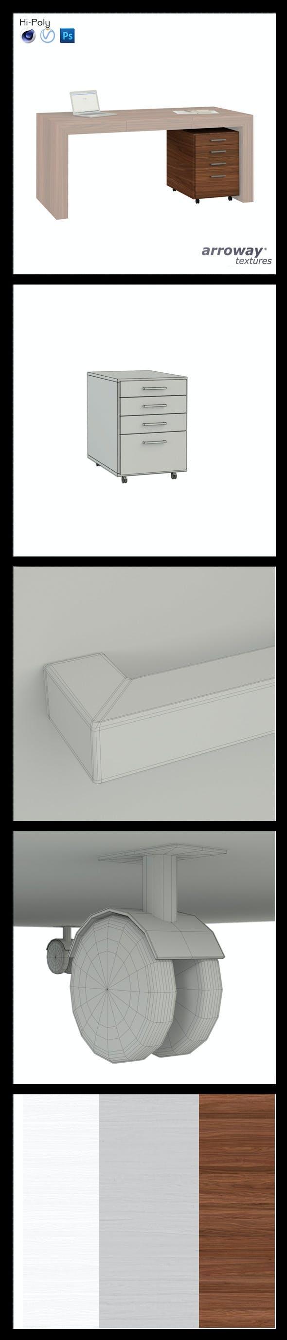 Triant Brown 571 Hi-Poly - 3DOcean Item for Sale