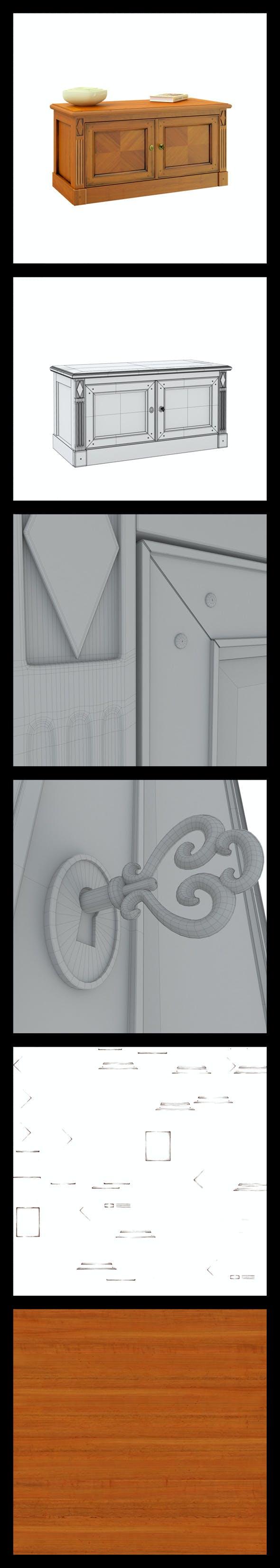 Triant Harmony 263 Hi-Poly - 3DOcean Item for Sale