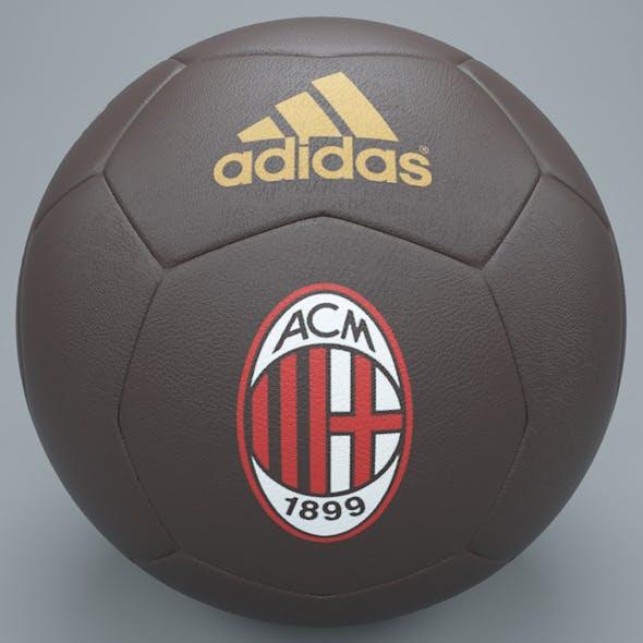 Brown ac milan football - 3DOcean Item for Sale