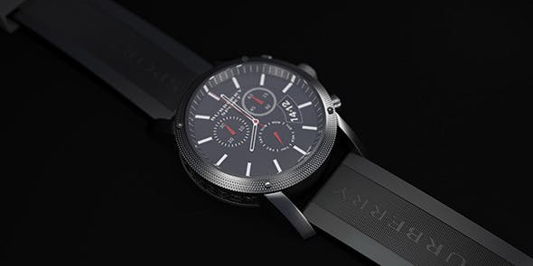 Sport Clock - 3DOcean Item for Sale