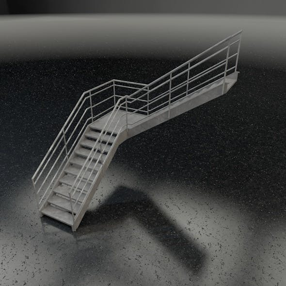 Stairs L-shape