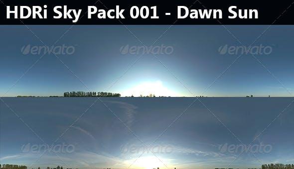 2 HDRi Sky Pack 001 - Dawn - 3DOcean Item for Sale
