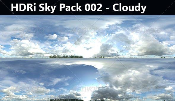 HDRi Sky Pack 002 - Cloudy - 3DOcean Item for Sale