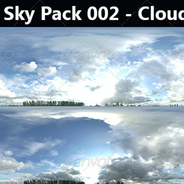 HDRi Sky Pack 002 - Cloudy