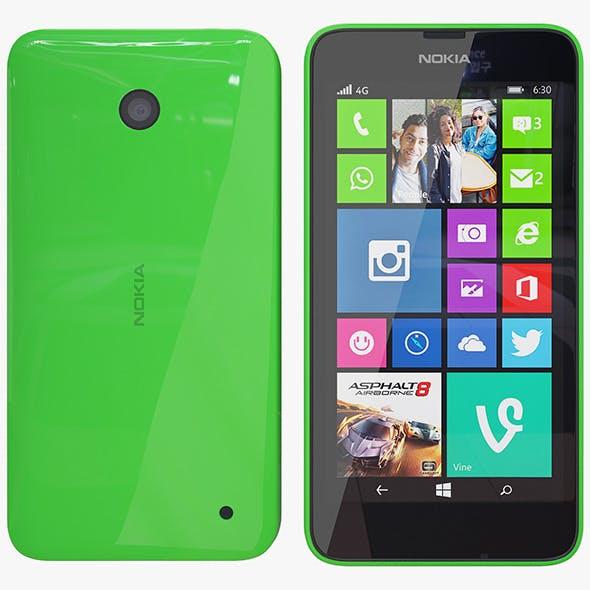 Nokia 635 green