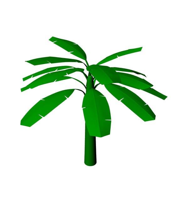 3d Banana Tree - 3DOcean Item for Sale