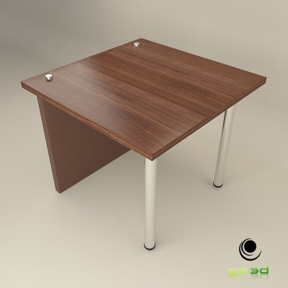 Office End Table - 3DOcean Item for Sale