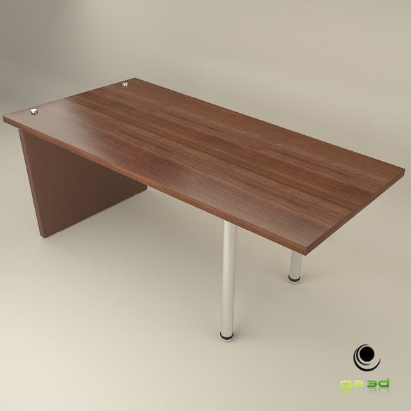 profile office table - 3DOcean Item for Sale
