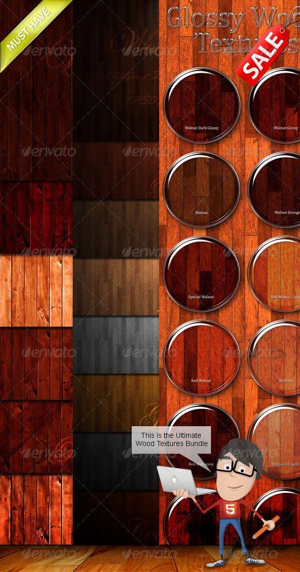 Wood Textures Bundle - 3DOcean Item for Sale