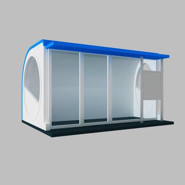 Kiosk Circle Box