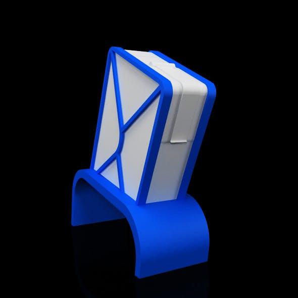 Concept Design Street mail Box 3 - 3DOcean Item for Sale