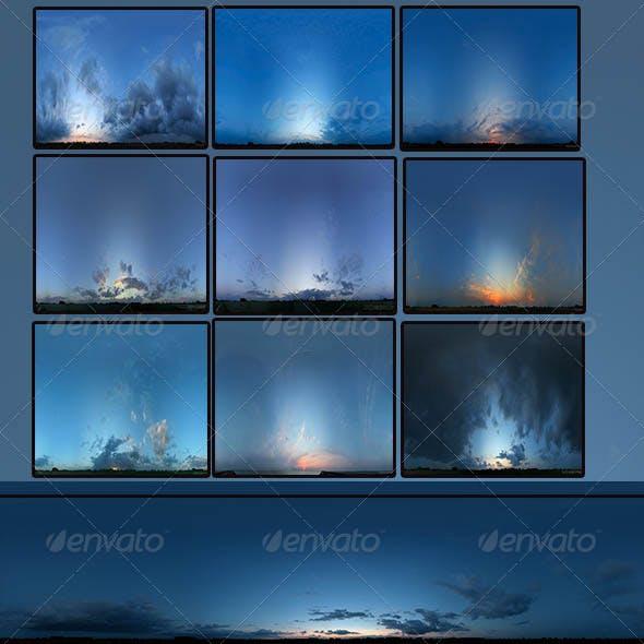 Skies Pack - 3DOcean Item for Sale