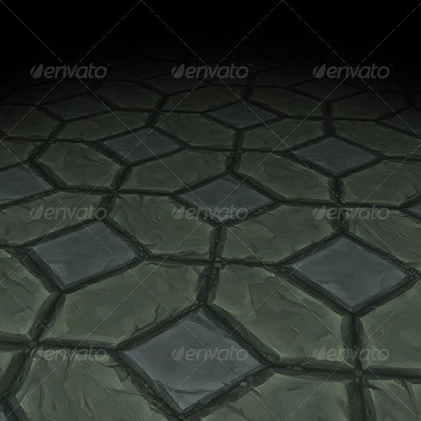Stone Floor Texture Tile 09