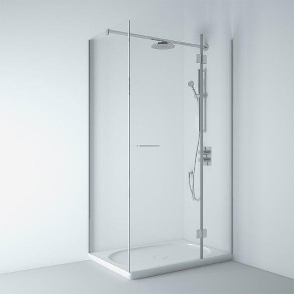 Shower Bath Laufen - 3DOcean Item for Sale