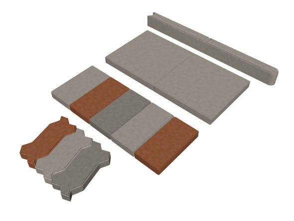 Paving Stones Set - 3DOcean Item for Sale