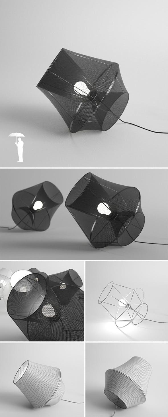 Moire lamp - 3DOcean Item for Sale