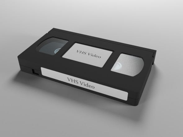 Vhs Video Cassette By Korfinalized 3docean