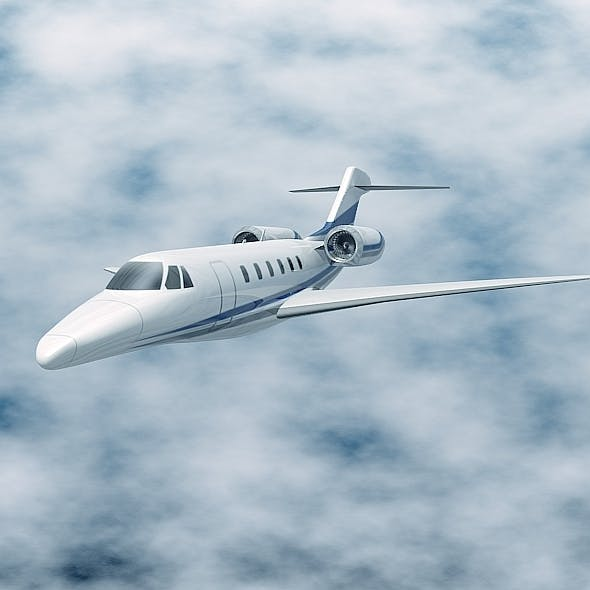 Cessna Citation X business jet - 3DOcean Item for Sale