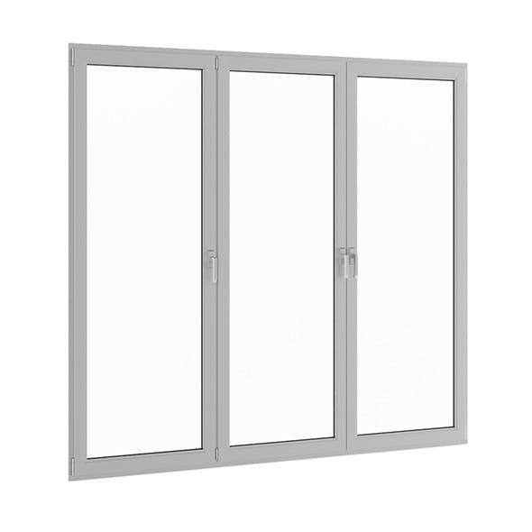 Metal Window 2824mm x 2360mm - 3DOcean Item for Sale