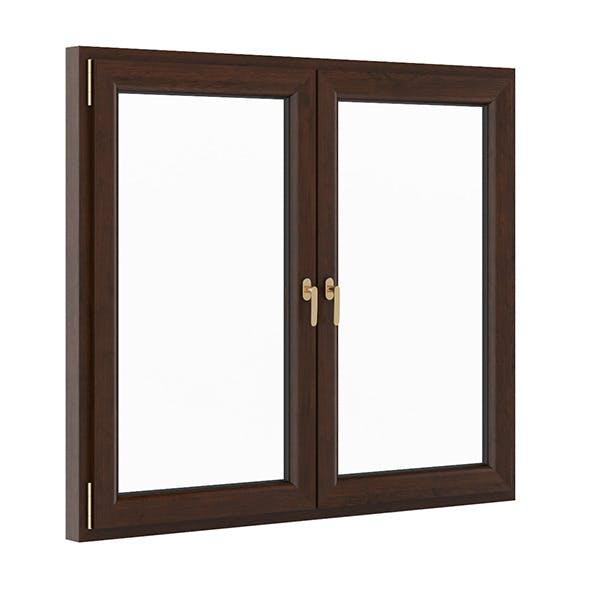 Wooden Window 1730mm x 1500mm - 3DOcean Item for Sale