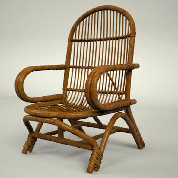 Simple Rattan Chair
