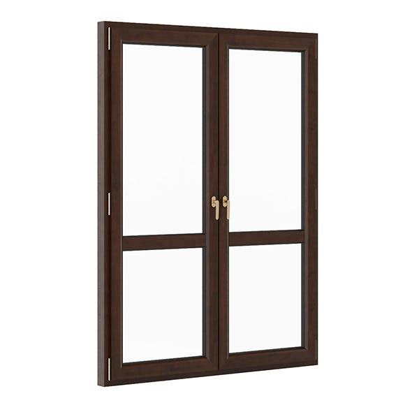 Wooden Window 1730mm x 2300mm - 3DOcean Item for Sale