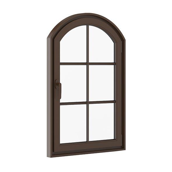 Brown Metal Window 940mm x 1440mm - 3DOcean Item for Sale