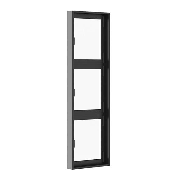 Black Metal Window 800mm x 2700mm - 3DOcean Item for Sale