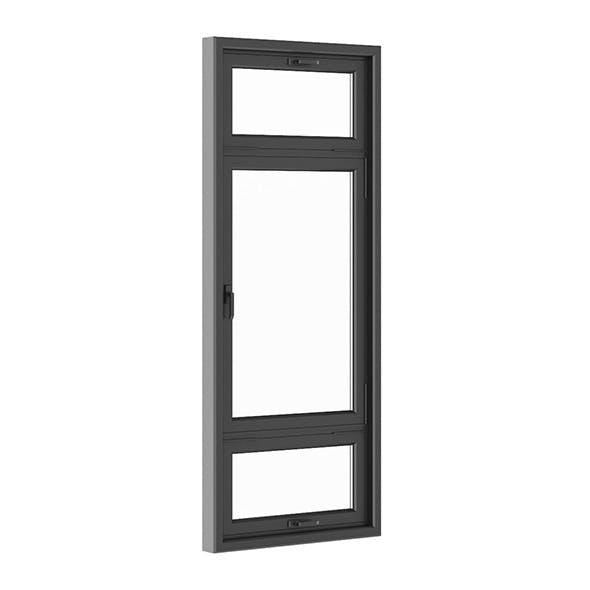 Black Metal Window 1100mm x 2700mm