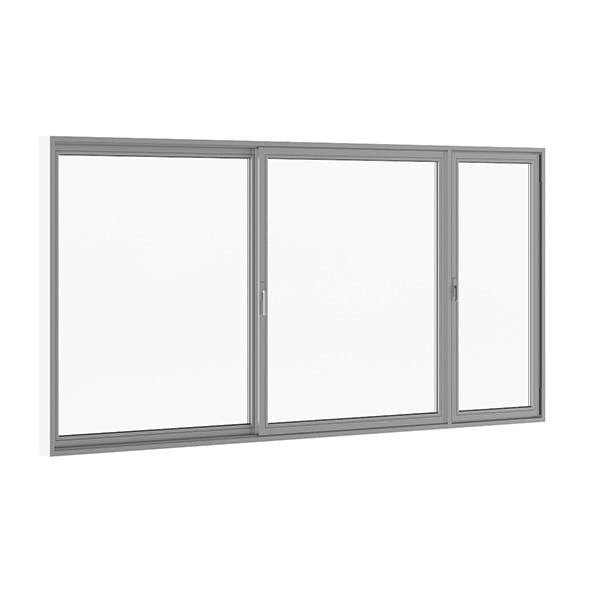 Sliding Metal Doors 5120mm x 2500mm - 3DOcean Item for Sale