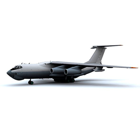 military_aircraft_hi_poly_animated