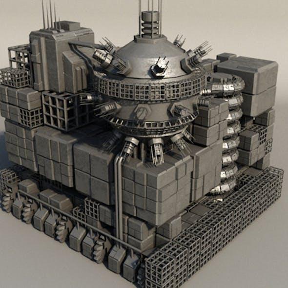 Sci Fi Box Building 5