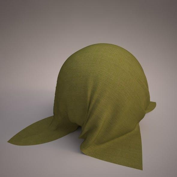 Vray fabric Kvadrat remix green - tileable