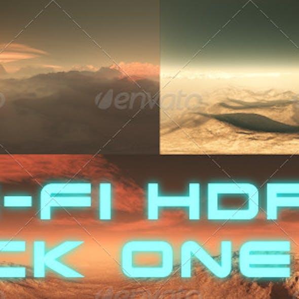 Sci-Fi Planet HDRI / 360 Degree Environment Set